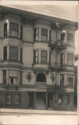 "Photo of Front of 4-Story Building ""Laguna"" Postcard"