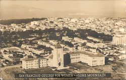 College for Women, Lone Mountain Postcard