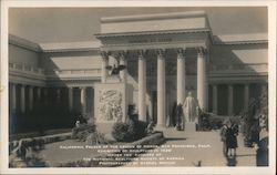 California Palace of the Legion of Honor Postcard