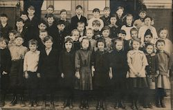 School Children Postcard