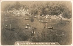 Boating and Bathing, Russian River