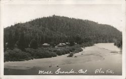 Scenic View at Mesa Grande Postcard