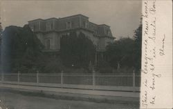 Three story residential home Postcard