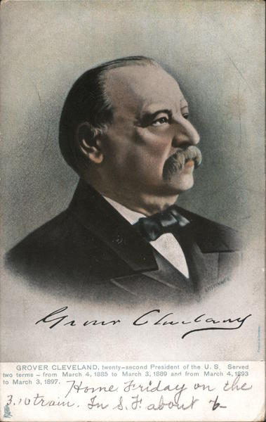 Grover Cleveland, 22nd President of the US Presidents