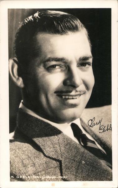 Clark Gable Metro Goldwyn-Mayer Actors