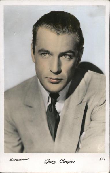 Gary Cooper Actors