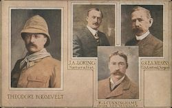 The Roosevelt Expedition - Smithsonian Africa. Roosevelt, Loring, Cunninghame, Mearns