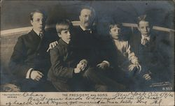 The President and Sons Postcard
