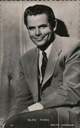 Glenn Ford Postcard