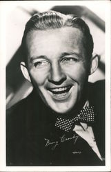 Bing Crosby Postcard