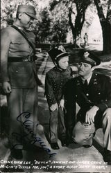 "Ching Wah Lee, Butch Jenkins and James Craig in ""Little Mr. Jim"" Postcard"