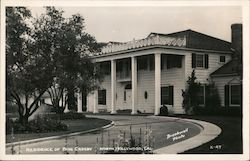 Residence of Bing Crosby North Hollywood, Cal. Postcard