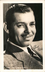 Clark Gable Postcard