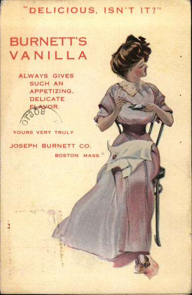 Burnett's Vanilla - Joseph Burnett Co. Boston Massachusetts