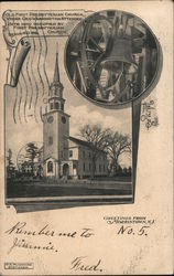 Old First Presbyterian Church Where Geo. Washington Attended Postcard