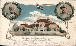 The Swedish Homestead St. Louis Postcard