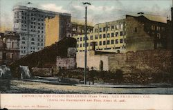 Emporium and Flood Buildings (Rear View) Postcard