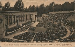 Hearst Greek Theatre, University of California Postcard