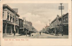 East 4th St Postcard