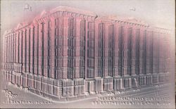 Palace Hotel, totally destroyed by earthquake and fire Apr. 17, 1906 Postcard