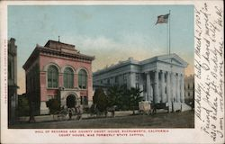 Hall of Records and County Court House, Formerly the State Capitol Postcard