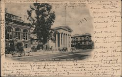Hall of Records and Court House Postcard