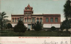 Od Fellows Building Postcard