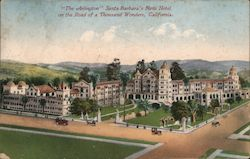 The Arlington Santa Barbara's new hotel on the Road of a Thousand Wonders Postcard