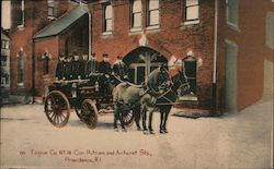 Engine Co. No. 14 Cor. Putnam and Amherst Sts Postcard