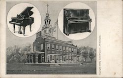 Pennsylvania Building, Jamestown Exposition, 1907 Postcard