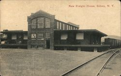 New Freight House Postcard