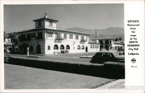 Eaton's Restaurant Santa Barbara California