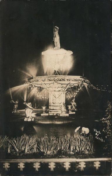 Fountain, Neptune with Raised Trident? San Francisco California