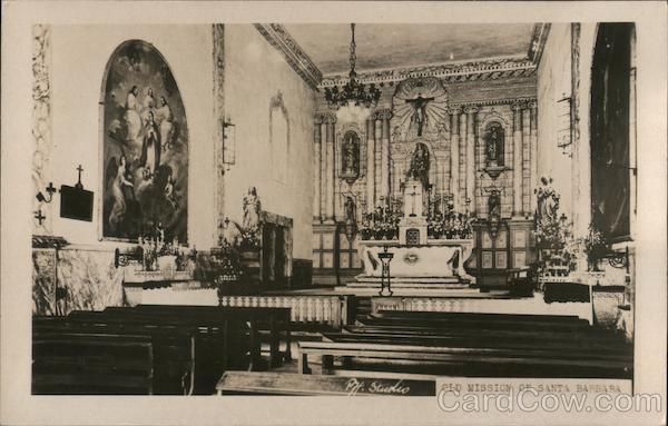 Old Mission of Santa Barbara California