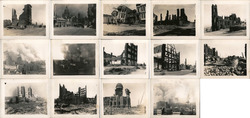 Set of 14: Original San Francisco Earthquake Photographs 1906 Original Photograph