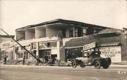Santa Barbara Earthquake, June 29, 1925 Postcard
