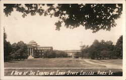 A View of the Campus of Iowa State College Postcard
