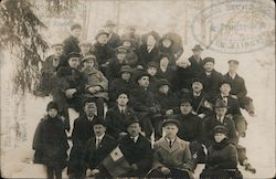 Esperanto Society group photo Postcard