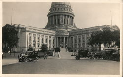 State Capitol Building, Rare View, Early Cards & Trucks Postcard