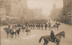 Essex Troop Wilson Inauguration Parade March 4, 1913 Postcard