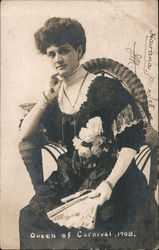 Queen of the carnival, 1908 Postcard