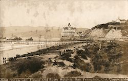 Seal Rocks, Cliff House and Sutro Heights Postcard