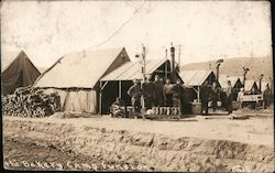 Field Bakery, Camp Funston Postcard
