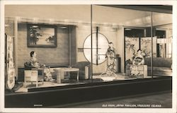 Silk Room, Japan Pavilion, Treasure Island Postcard