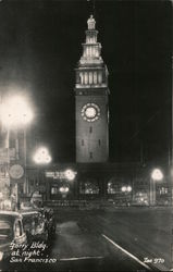 Ferry Building at Night