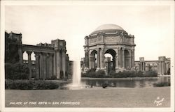 Palace of Fine Arts, PPIE Postcard