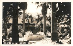 Old Mission Santa Barbara Postcard