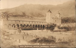 Old Mission Postcard
