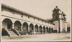 Mission Santa Barbara, California Postcard