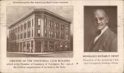 Honorable Richrd P. Ernst. Industrial Club Building Postcard
